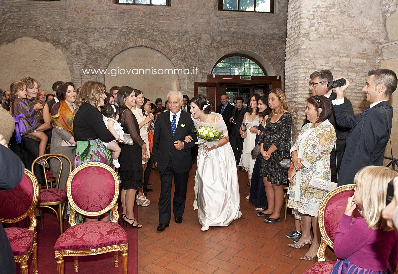 Matrimonio Simbolico In Chiesa : L ingresso in chiesa della sposa il tragitto vita