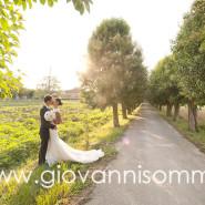 Mikael e Annamaria, il loro matrimonio nelle Terre del vino