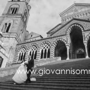 """Dicembre e non sentirlo ! Le nozze """"invernali"""" di Rossella e Giovanni ad Amalfi"""